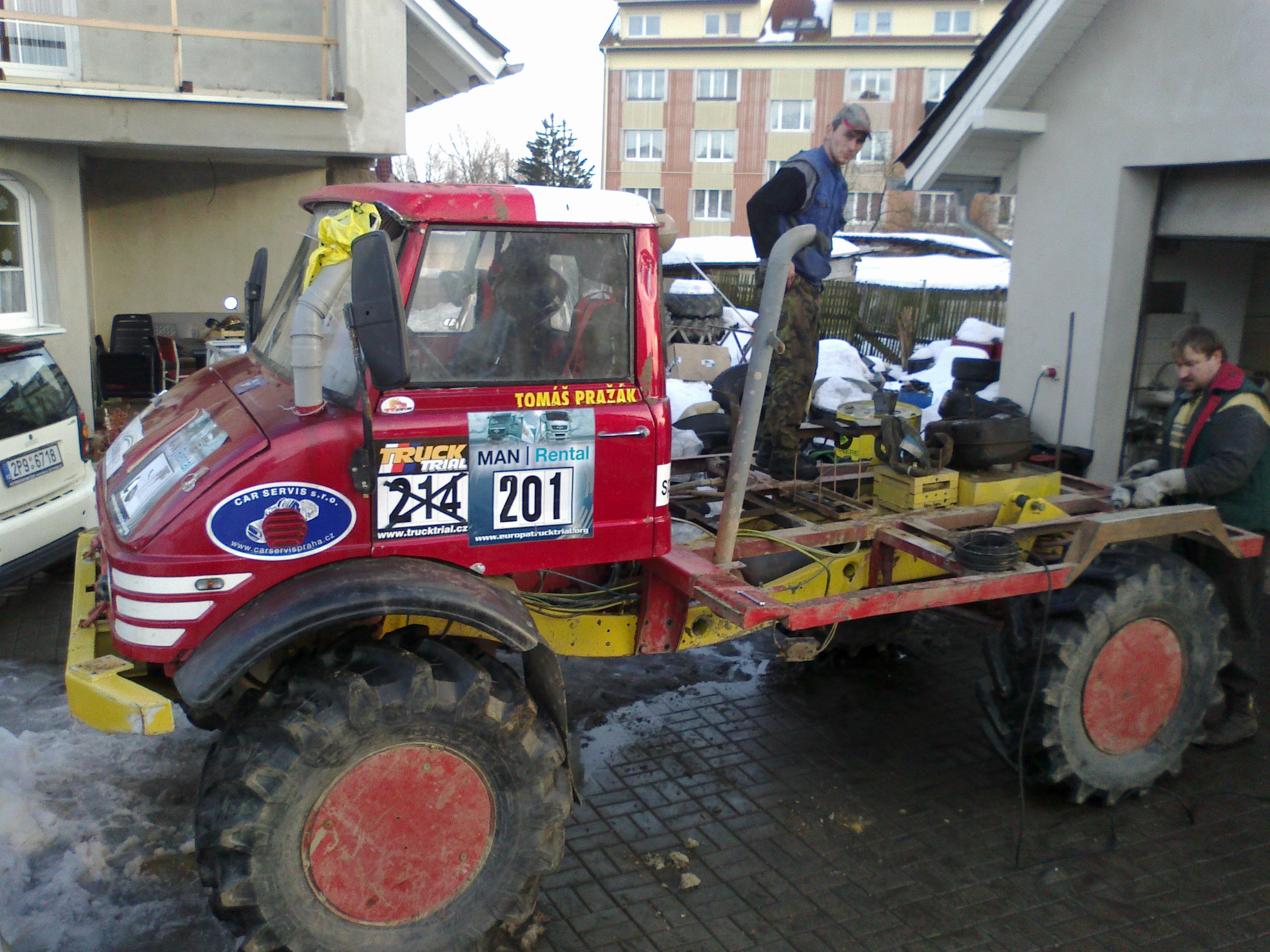 Přípravy na sezónu 2011